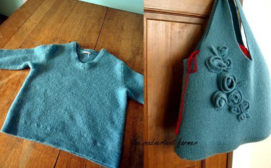 Felting+wool+sweaters